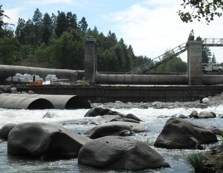 Water Diversion & Cofferdam Installation